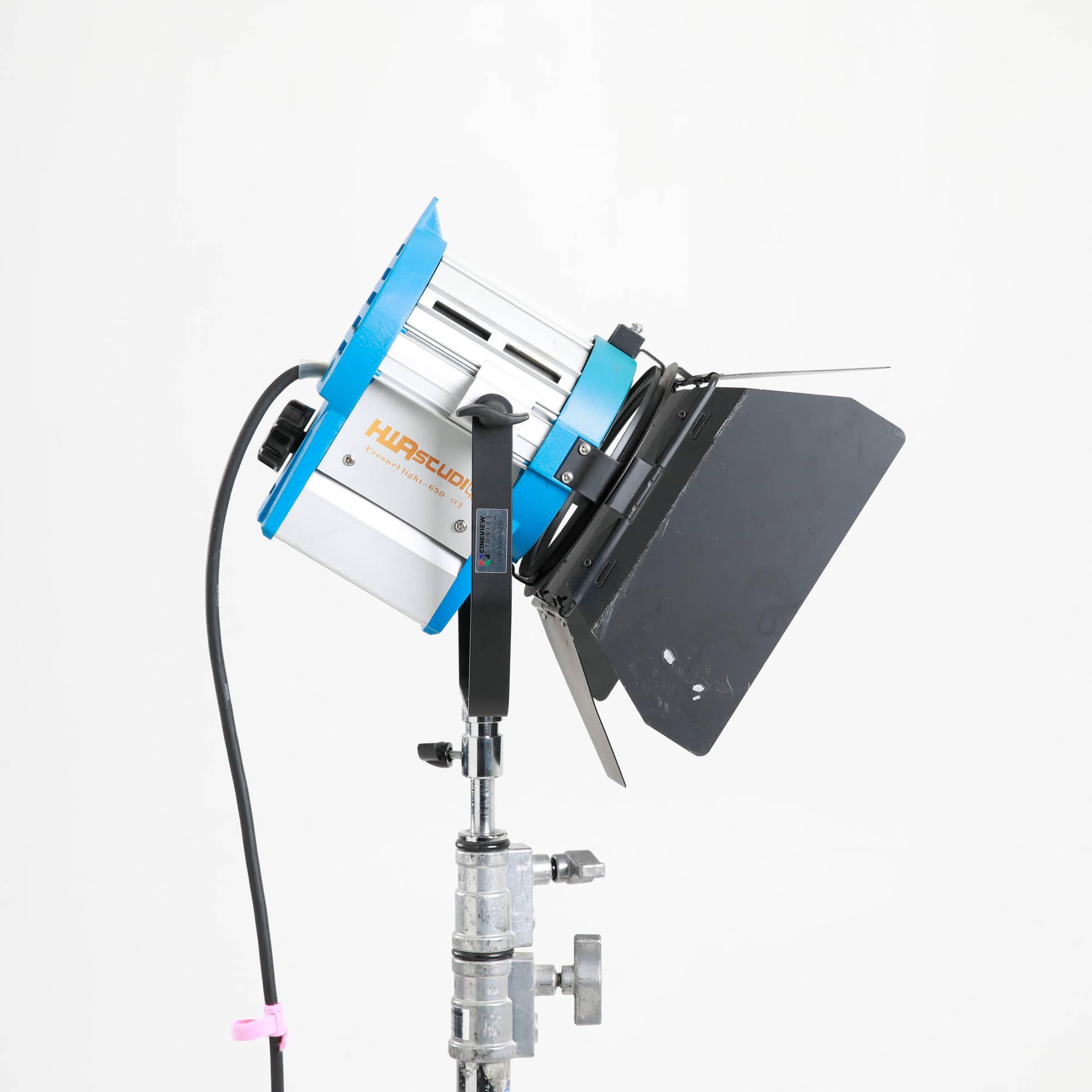 Studio Lighting Rental: Hwastudio Light 650w Continuous Lights